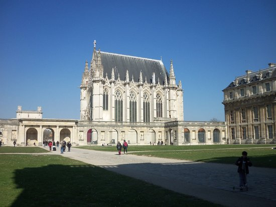 Chateau of Vincennes: la Sainte-Chapelle de Vincennes