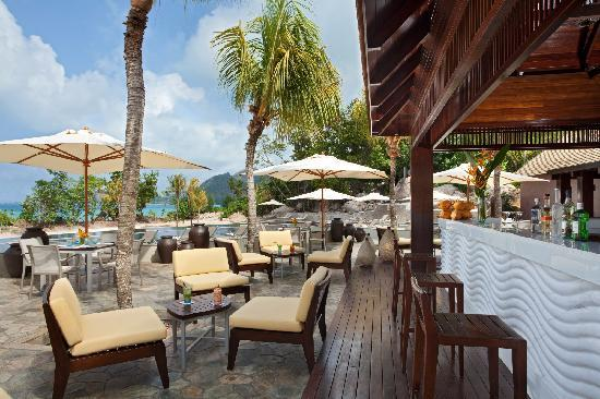 Raffles Seychelles: Curieuse Pool Bar