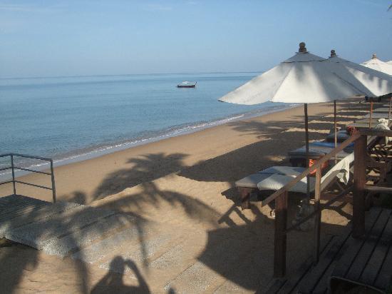 Chongfah Beach Resort: View from hotel over Bang Niang beach