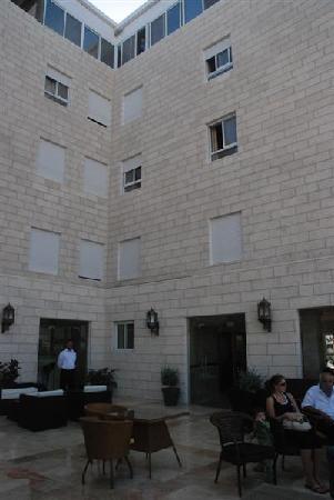 Angel Hotel: Terrace