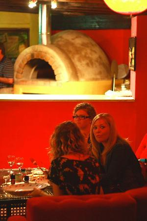 Ozone cafe bar: pizza lounge area