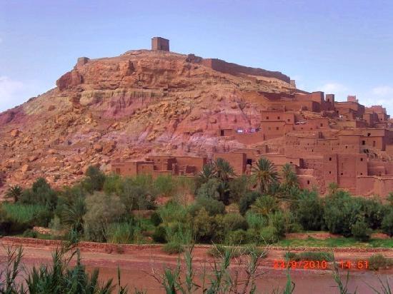Ouarzazate, Marrocos: KASBAH AIT BENHADOU