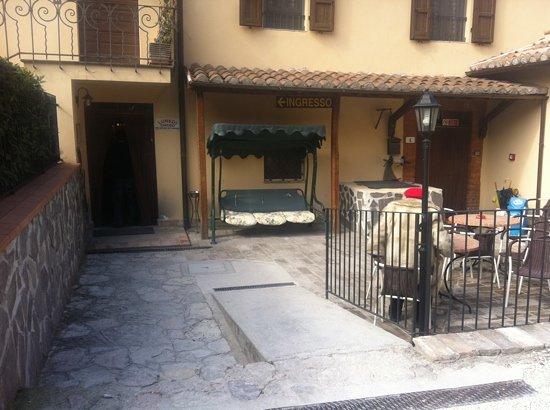 Albergo Ristorante Dei Pini: ingresso
