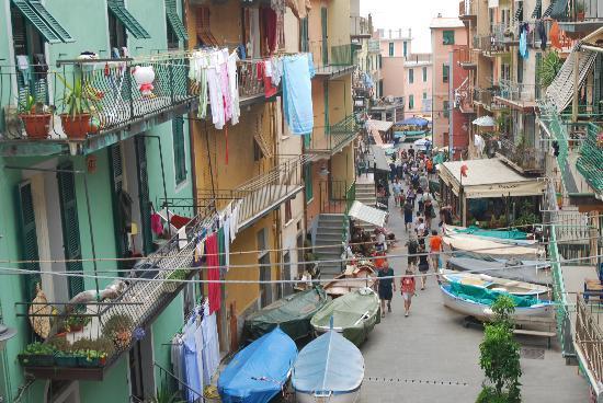 Manarola, Włochy: via birolli