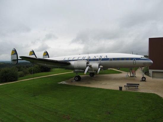 Flugausstellung L.+P. Junior: Super Constellation Lufthansa