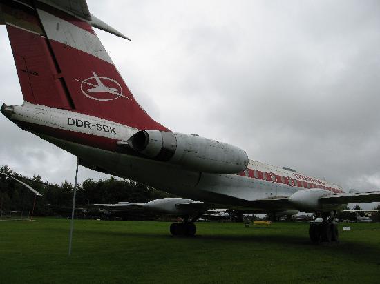 Flugausstellung L.+P. Junior: Tupolew TU-134A Interflug
