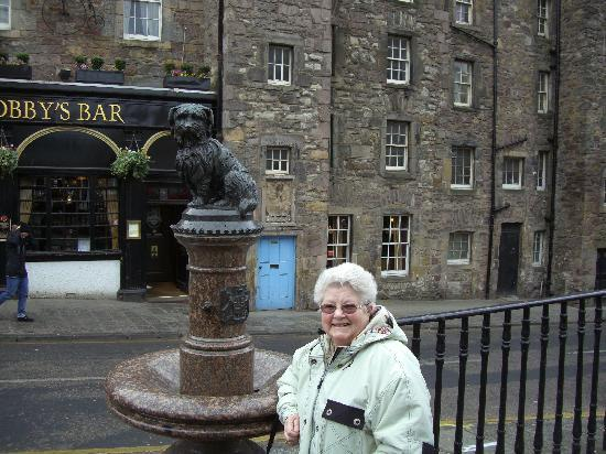 Bield B&B: My ambition, to see greyfriar's bobby !