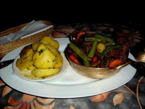 Cafe Mariane : Beef Daube Provencal