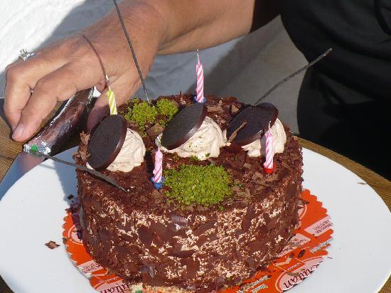 Yacht Boutique Hotel: de verjaardagstaart