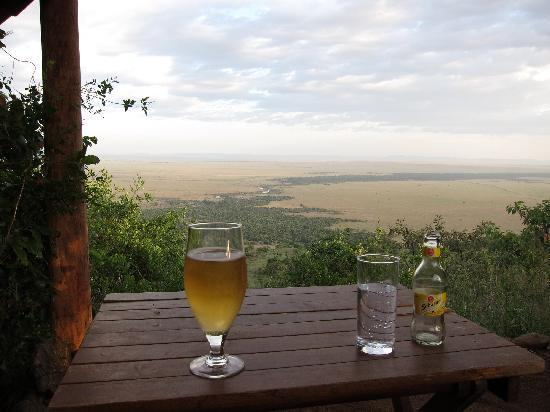 Kilima Camp: Incredible views from the lookout
