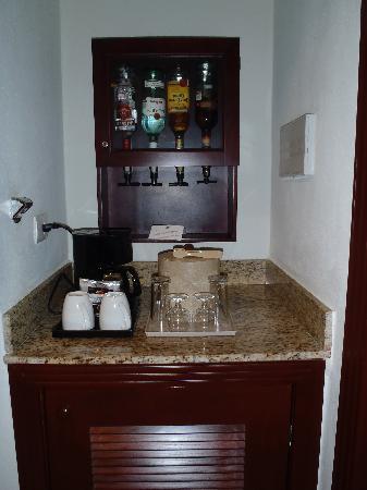 Hotel Riu Palace Las Americas: Liquor Selection in Room
