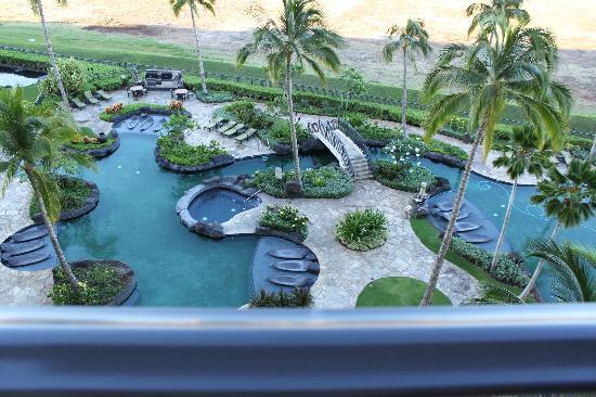 Beach Villas At Ko Olina Pool View From Lanai