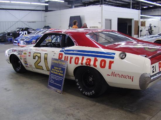 Wood Brothers Museum: David Pearson's car