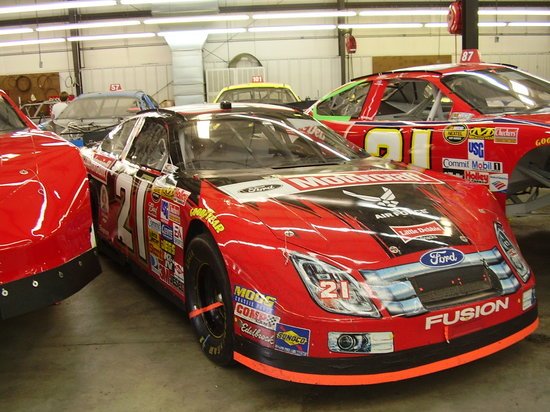 Stuart, Virginie : Bill Elliott's car