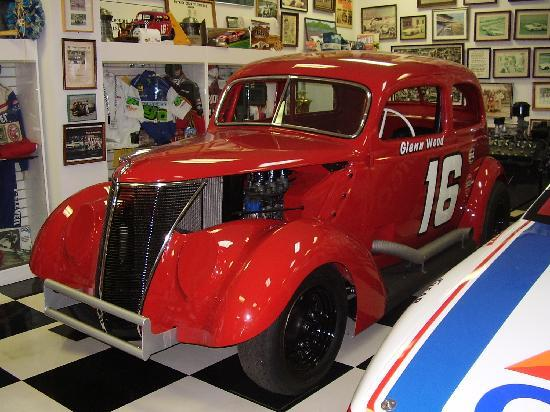 Wood Brothers Museum: Glen Wood's car