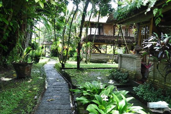 Dewi Sri Bungalows : Parc