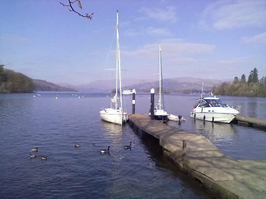 Bowness-on-Windermere, UK: Lake Windermere.