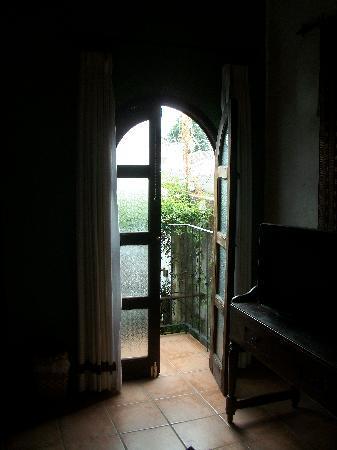 La Villa Serena: Small Balcony