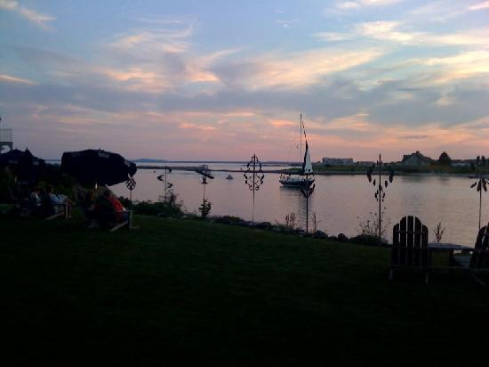 Kennebunkport, ME: The river at sunset