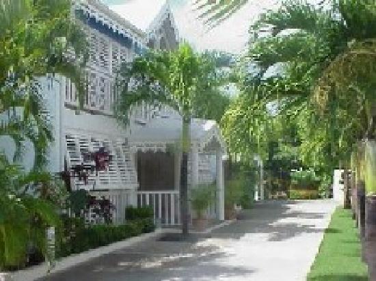 Hotel Amaudo : L'entrée