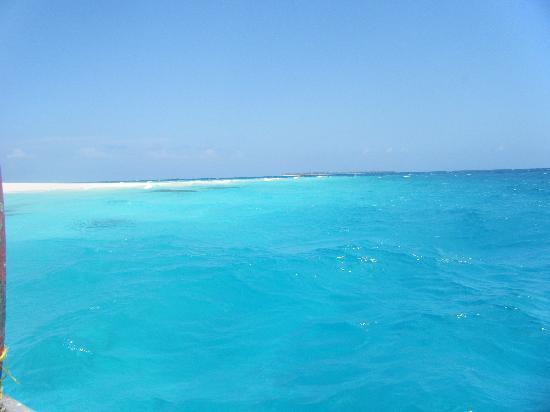 Zanzibar, Tanzania: il colore del mare