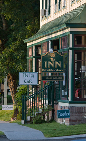 The Inn in Westport: The Inn on the Library Lawn