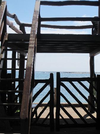 Paraiso do Morro: Subida a las habitaciones