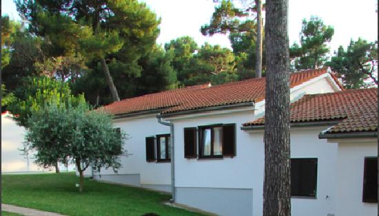 Villa Laguna Galijot: The villas are a nice and quiet place for families with children or dogs
