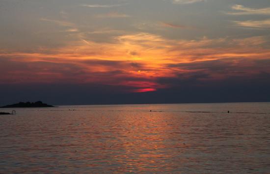 Villa Laguna Galijot: Beautiful sunsets every evening