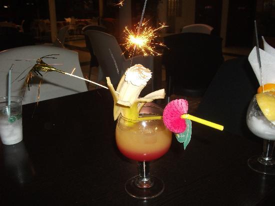Apartamentos Guanabara Park: one of the cocktails!