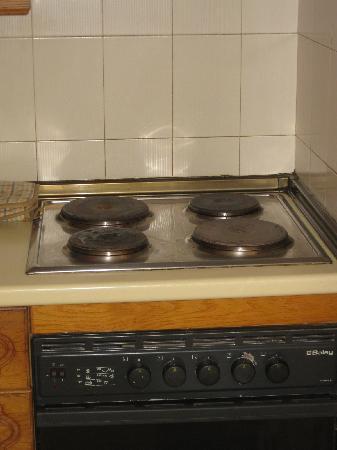 Pebble Beach Village: Part of the Aged kitchen!