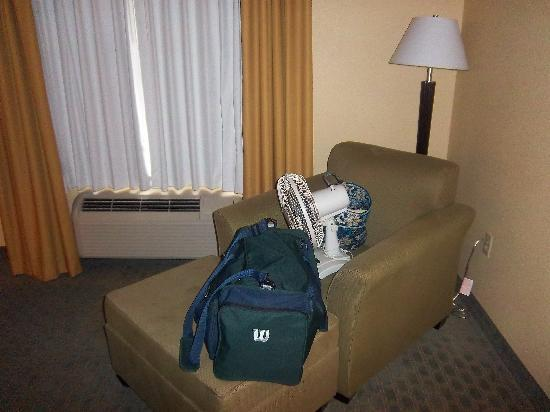 Ambassador Inn&Suites Tuscaloosa: comfy chair in the corner