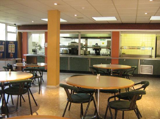 Hyelm: sala ristorante e tempo libero, cucina
