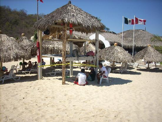 Hotel Castillo Huatulco Hotel & Beach Club : Wonderful private beach club