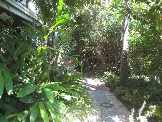 Baystay Bed & Breakfast: Meander in the garden
