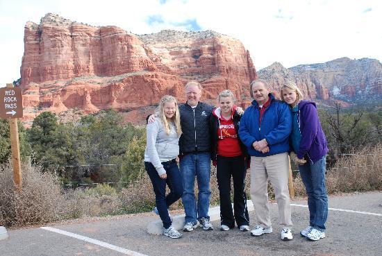 Silver Spur Tours - Day Tours: Stephanie/family Sedona Tour