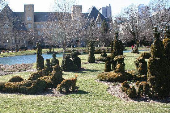 Topiary Garden View