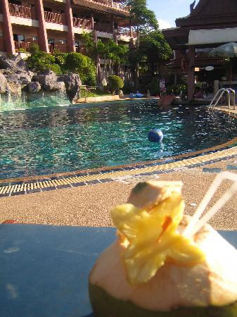 Pina Colada at large pool
