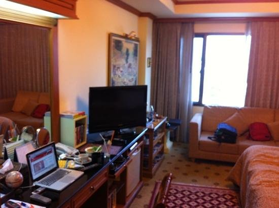 Taksila Hotel: good TV and fast free Internet