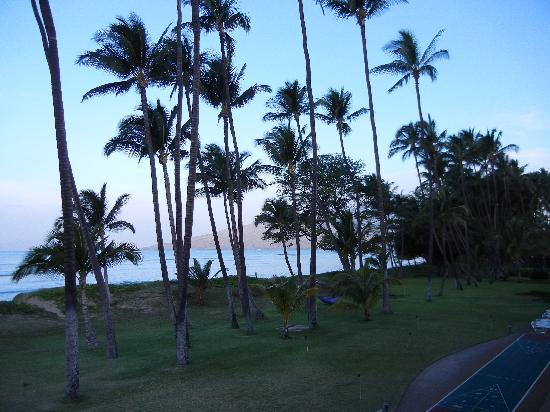 Hale Kai O'kihei: view from lanai