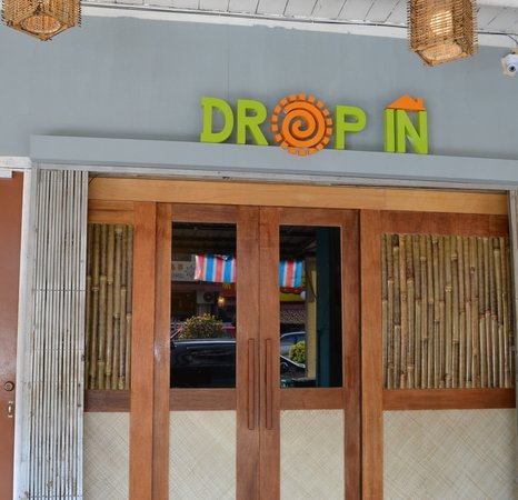 Drop In Guesthouse: Our main entrance