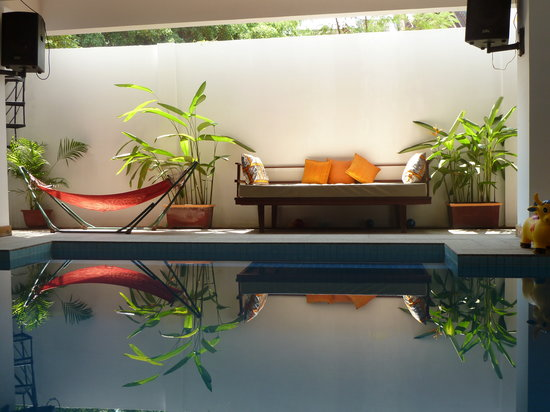 The Siem Reap Hostel: Pool!