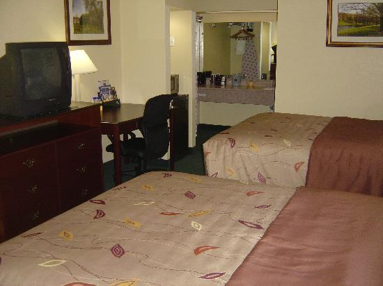 Econo Lodge : Newly renovated room w/double queen beds