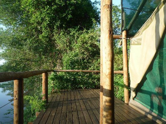 Machampane Wilderness Camp: Luxuszelt