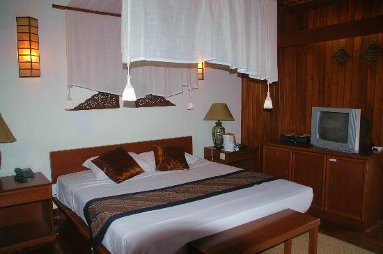 Shah's Beach Resort : One of the deluxe room