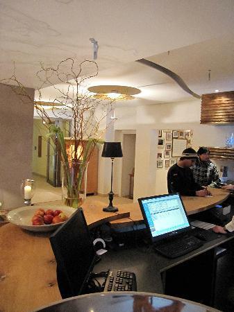 Das Mühlbach - Thermal Spa & Romantik Hotel: Empfangsraum