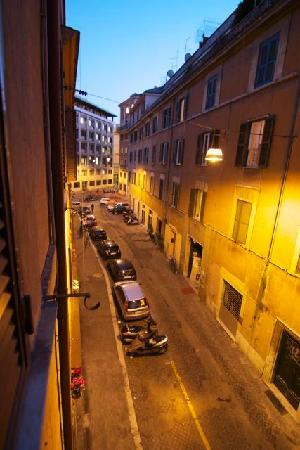 Trastevere Relais: view from the window