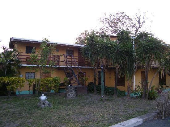 Tha main accomodation block at Charco Verde