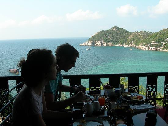 Jamahkiri Resort & Spa: petit déjeuner dans un décor de rêve