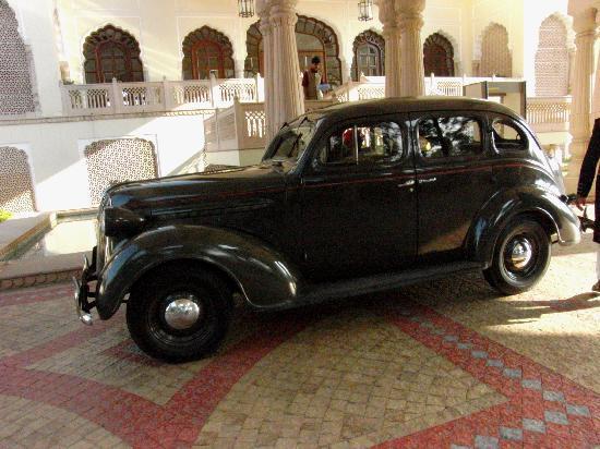 Rambagh Palace: Auto der letzten Königsfamilie